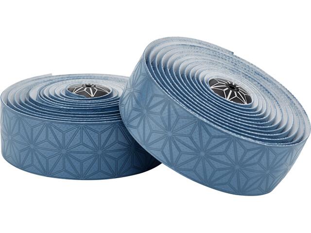 Supacaz Super Sticky Kush Starfade Lenkerband blaugrau
